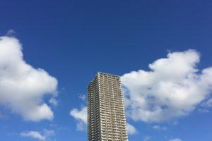 7月の青空