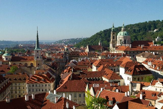プラハの町