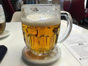空港ビール(プラハ)