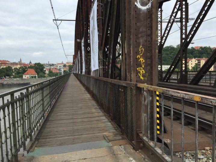 プラハ鉄道橋