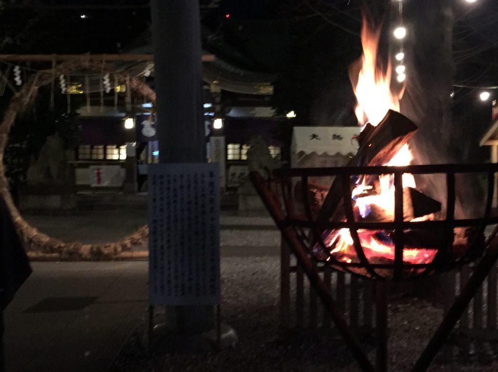 鷲神社新年